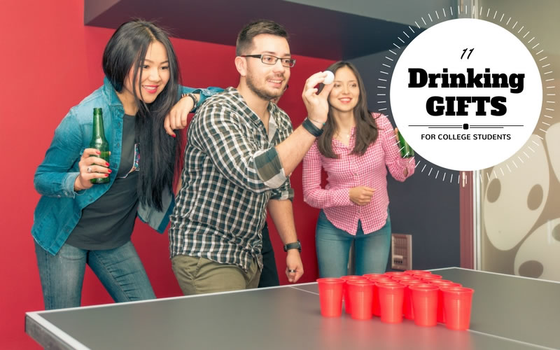 11 Drinking Gifts for College Students