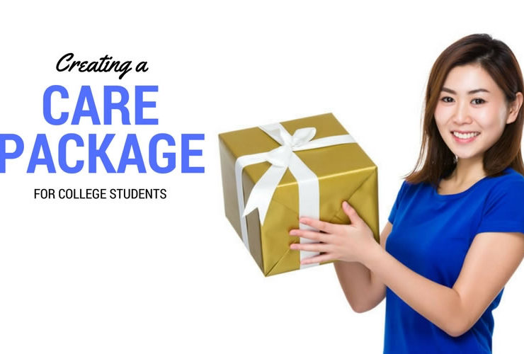 Creating a Care Package for College Students
