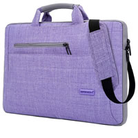 Multi-Functional Suit Fabric Portable Laptop Carrying Case Bag