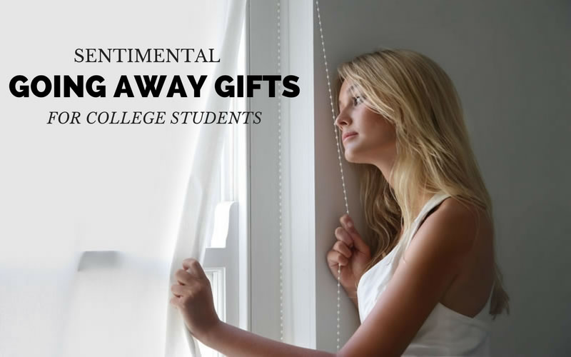 Sentimental Going Away Gifts for College Students