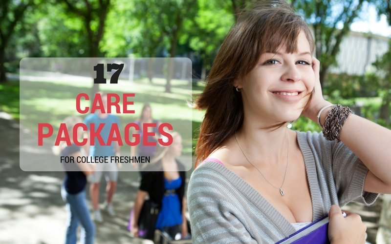 17 Items in Care Packages for College Freshmen